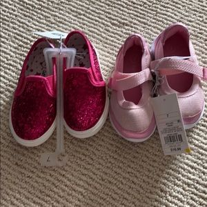 2 cute pairs of brand new shoes!